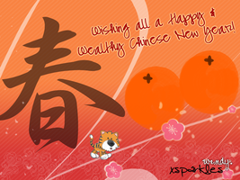 Chinese New year by xsparkles