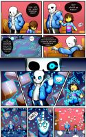 Reminiscence: Undertale Fan Comic Pg. 2 by Smudgeandfrank