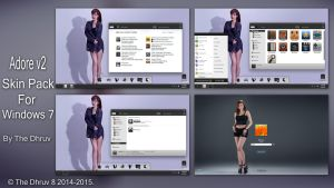 Adore 2 Skinpack by TheDhruv