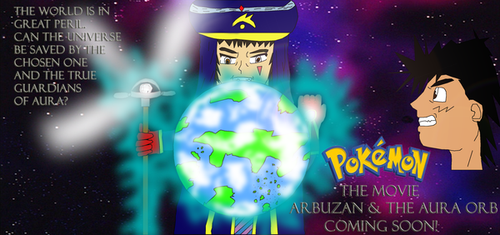 PKMN Arbuzan and the Aura Orb by TR-Kurt