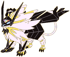 Necrozma Mane of Twilight - RBY