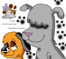 2 Stupid Dogs by EdwardKelsey