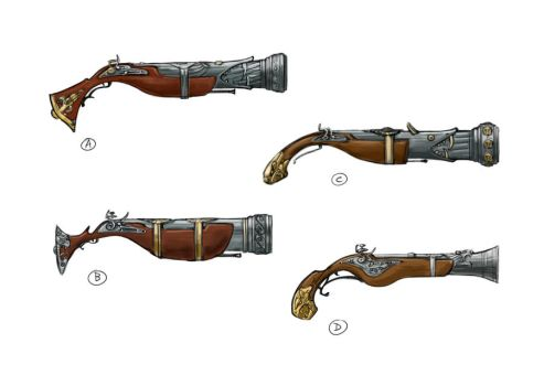 blunderbuss concepts by TheBeke