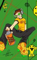 Jet Set Radio by arima
