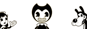 Bendy and Friends by SCP-096-2