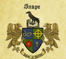 Snape family coat of arms by JosieCarioca