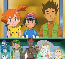 Ash's Classmates meets Misty and Brock by WillDynamo55