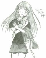 Tohru and Kitty Kat Kyo by chibireaper