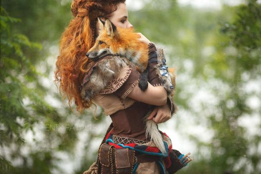 Horizon: Zero Dawn - Aloy Cosplay by fenixfatalist