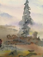 In the Mist by JJWatercolor704