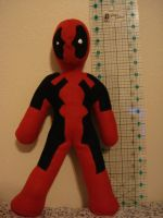 Deadpool plushie base by reluctantdisaster