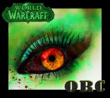 World Of Warcraft Orc Eye by iluvjono4eva