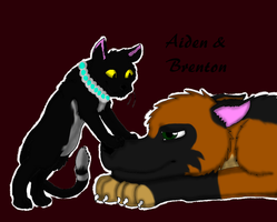 It's Aiden and Brenton by rexyplexy
