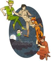 Kenny and the Lost Boys by xNoWherex