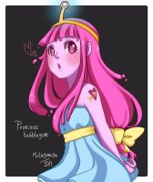PB - princess bubblegum by MilkyMichi