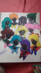 Sailor Scouts by iShadowLink