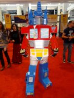 Optimus Cosplay by I-Am-A-Silver-Lining