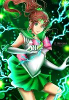 Transformation Series: Sailor Jupiter by Hikarisoul2