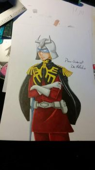 Char Aznable by Yukiname