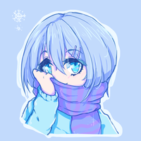 Sad Snowflake by HaruMiiu