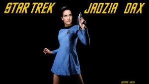 Terry Farrell Jadzia Dax Star Trek by gazomg