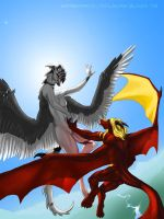 Flying High by Crazy-Dragon