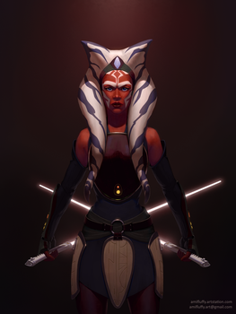 Ahsoka by amifluffy