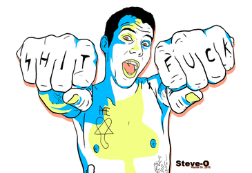 SHIT-FUCK: Steve O by addictedsp8