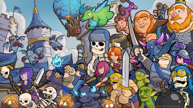 Clash Royale : Tribute by ninjakimm
