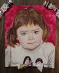 My sis's portrait by Vampiano