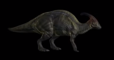 Parasaurolophus Jurassic Park The Game by Martinmiguel