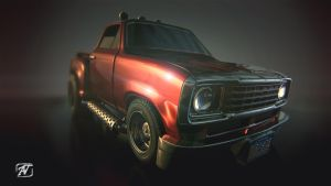 Red Truck V02 by AhmadTurk