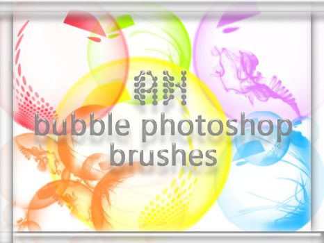 Bubble brushes by airamneleb
