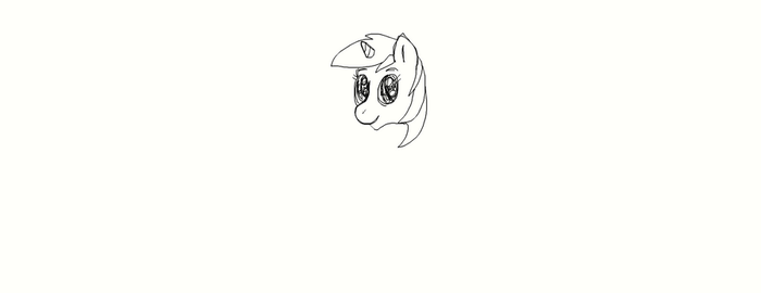 crappy lyra sketch by MoonGazerThePony
