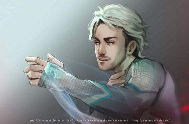 Avenger Quicksilver by maorenc
