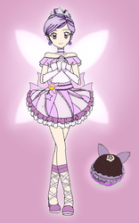 Cure Sugarplum (Kirakira precure OC) by SailorTrekkie92