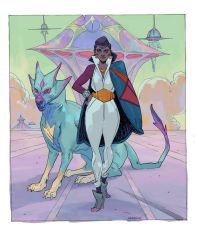 Space detective Seer by dogmeatsausage