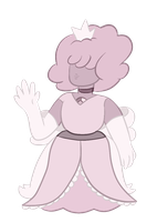 Pink Powder Sapphire by Pokederp198