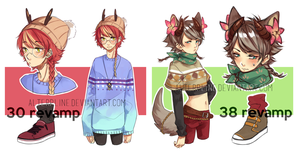 [Closed] Adopts 30+38 revamps by pakeji