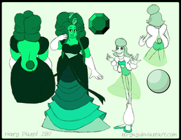 Emerald and Powder Green Pearl by no-guy