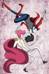 Prince Gumball and Marshall Lee by khiro