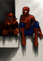 spideypool by LucasVincent