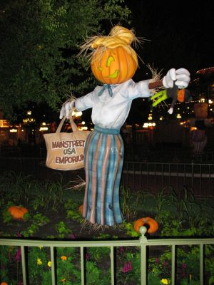 Halloween Scarecrow WDW 2 by WDWParksGal-Stock