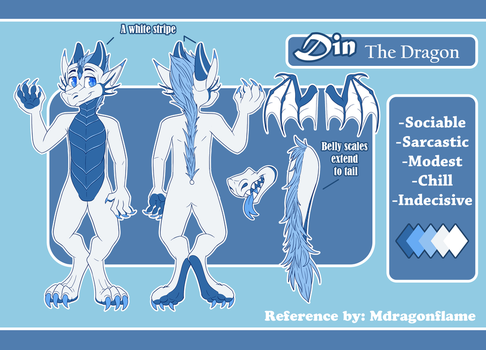 Reference Commission - Din by Mdragonflame