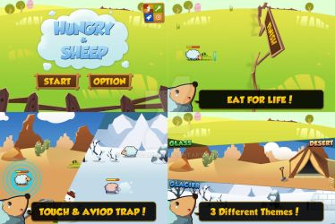 Hungry and Sheep Release! [App store] by caofgames