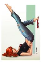Mary Jane, M. DeBalfo by ulamosart