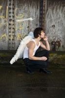 Grunge Angel stock 57 by Random-Acts-Stock