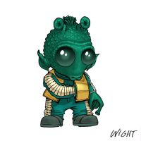 G is for Greedo by joewight