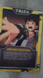 my Ben 10  card Trick by RhinoWing