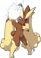 Lopunny Used Ice Punch